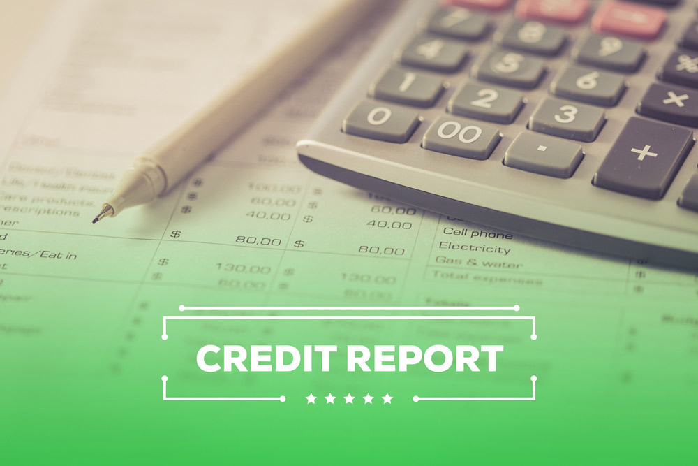 identity theft credit report